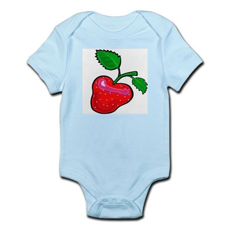 Juicy Big Strawberry Infant Creeper