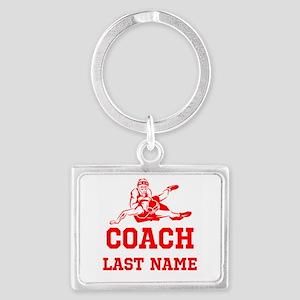 Wrestling Coach Keychains