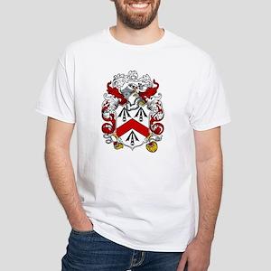 Walsh Family Crest White T-Shirt