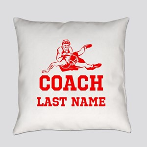 Wrestling Coach Everyday Pillow