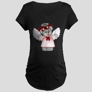 LITTLE ANGEL 3 Maternity Dark T-Shirt