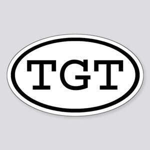 TGT Oval Oval Sticker