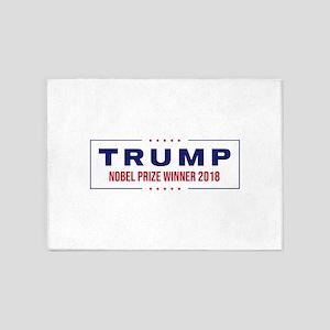 Trump - Nobel Prize Winner 2018 5'x7'Area Rug