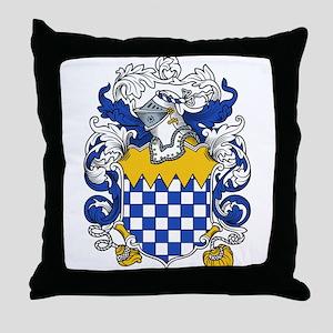 Walton Family Crest Throw Pillow