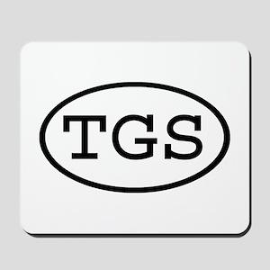 TGS Oval Mousepad