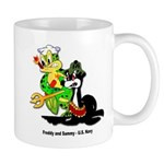 US Navy Freddy & Sammy Mug