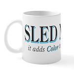 Sled Naked Mug