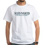 Sled Naked White T-Shirt