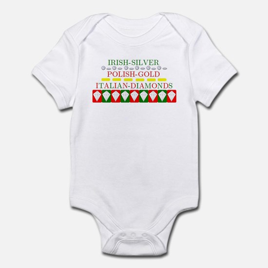 Italian Diamonds Infant Bodysuit