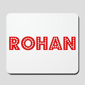 Retro Rohan (Red) Mousepad