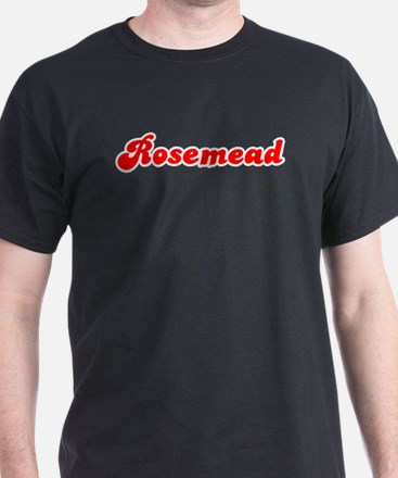 Retro Rosemead (Red) T-Shirt