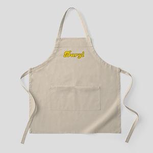 Retro Daryl (Gold) BBQ Apron