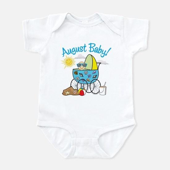 AUGUST BABY! (in stroller) Infant Bodysuit
