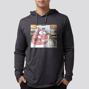 Turtle Stealing Eggs From Cook Long Sleeve T-Shirt