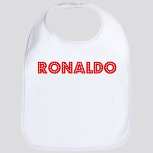 Retro Ronaldo (Red) Bib