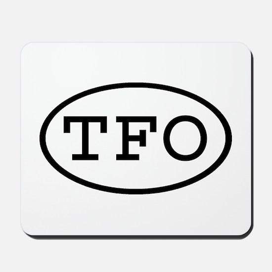 TFO Oval Mousepad