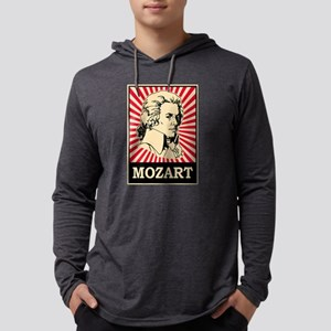 Pop Art Mozart Long Sleeve T-Shirt