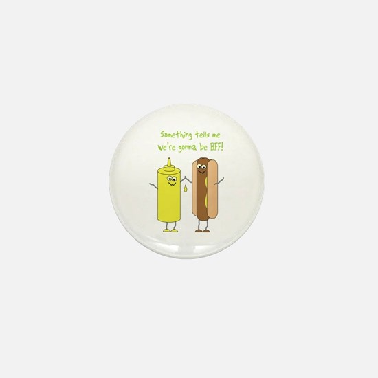Best Friends Forever Mini Button