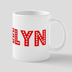 Retro Roselyn (Red) Mug