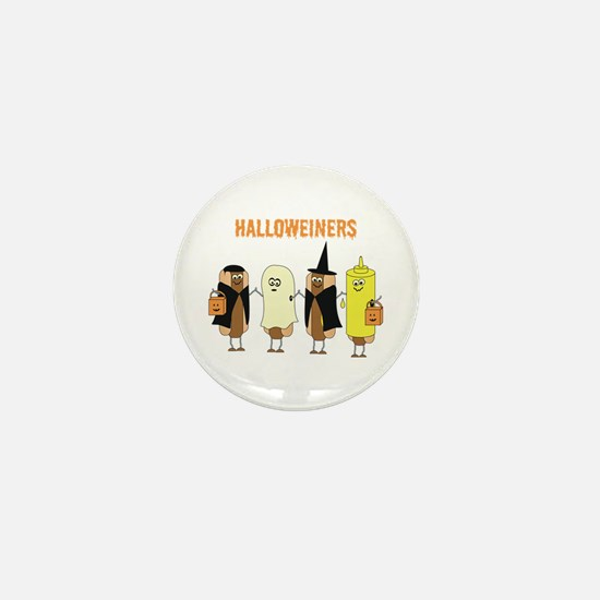 Halloweiners Mini Button