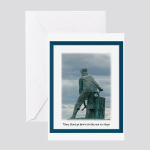 Gloucester Fisherman Greeting Card