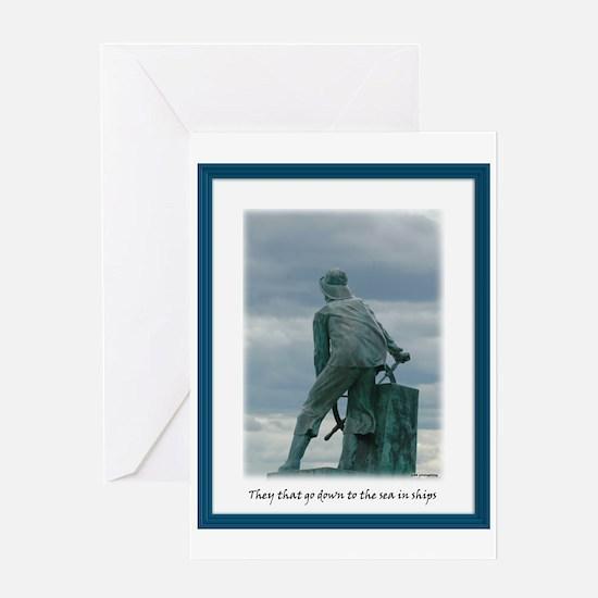 Gloucester Fisherman Greeting Card
