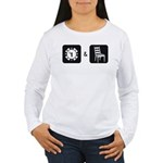 Chip and a Chair Women's Long Sleeve T-Shirt