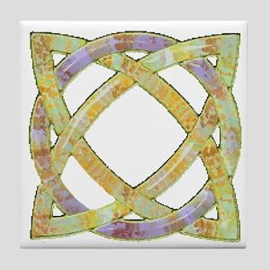 Celtic Knot 113 Tile Coaster