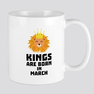 Kings are born in MARCH C3vec Mugs