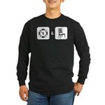 Chip and a Chair Long Sleeve Dark T-Shirt