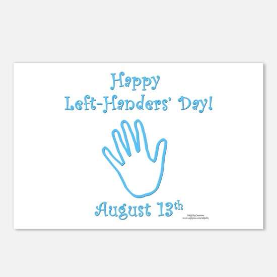 Left Handers' Day Postcards (Package of 8)