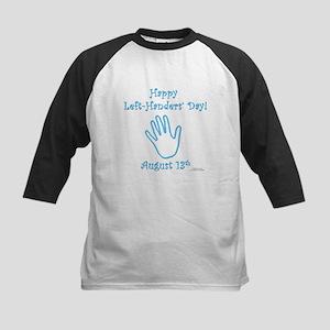 Left Handers' Day Kids Baseball Jersey