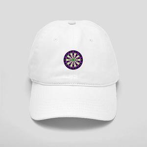 Purple Dart Board Cap