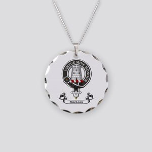 Badge-MacLean Necklace Circle Charm