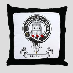 Badge-MacLean Throw Pillow