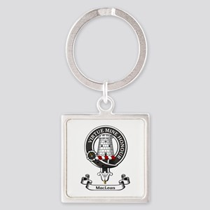 Badge-MacLean Square Keychain