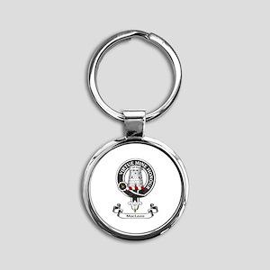 Badge-MacLean Round Keychain