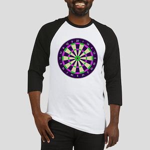 Purple Dart Board Baseball Jersey