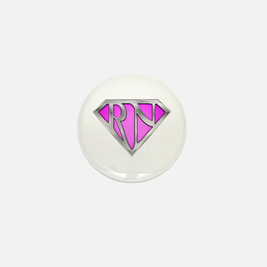 Super RN - Pink Mini Button