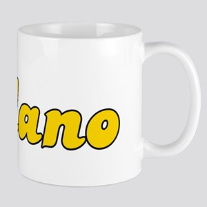 Retro Delano (Gold) Mug