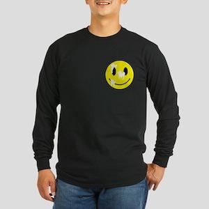 Cum Face Long Sleeve Dark T-Shirt