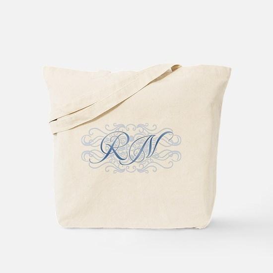 RN Fancy Graphic Nurse Tote Bag