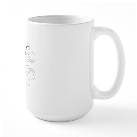 RN Fancy Graphic Nurse Large Mug