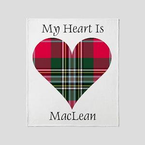 Heart-MacLean Throw Blanket