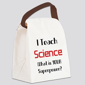 teach science Canvas Lunch Bag