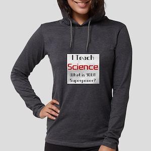 teach science Womens Hooded Shirt