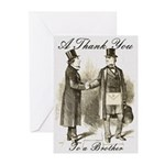 Thank you, Masonically Greeting Cards (Pk of 10)
