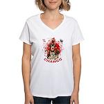 Chango Women's V-Neck T-Shirt