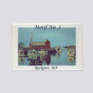 Motif No. 1 Rectangle Magnet