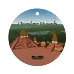 Ocmulgee Mounds Keepsake (Round)